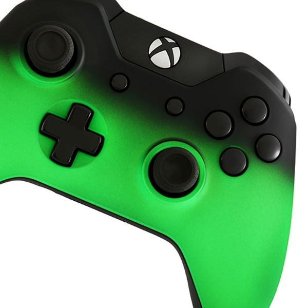 Green Shadow Edition Xbox One Controller - 365games.co.uk