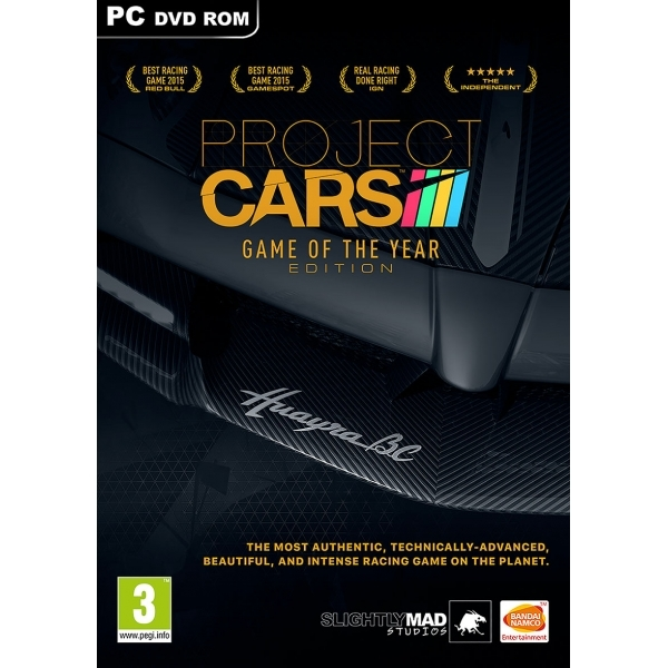 Project Cars Game Of The Year (GOTY) PC Game