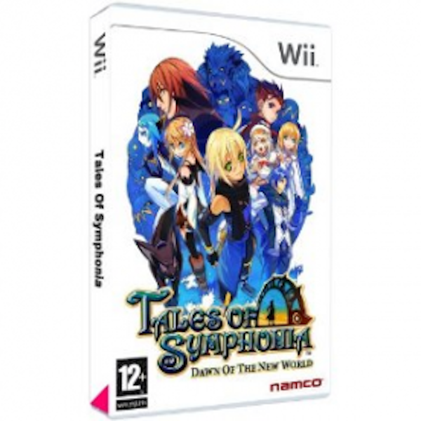 Tales Of Symphonia Dawn Of The New World Game Wii