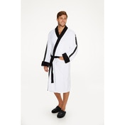Storm Trooper Embossed Star Wars White Hoodless Robe