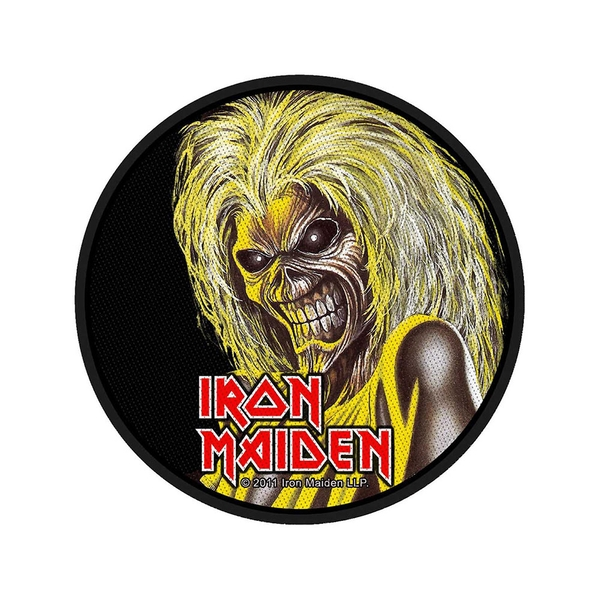 Iron Maiden - Killers Standard Patch