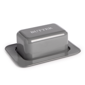 Butter Dish with Lid M&W Grey