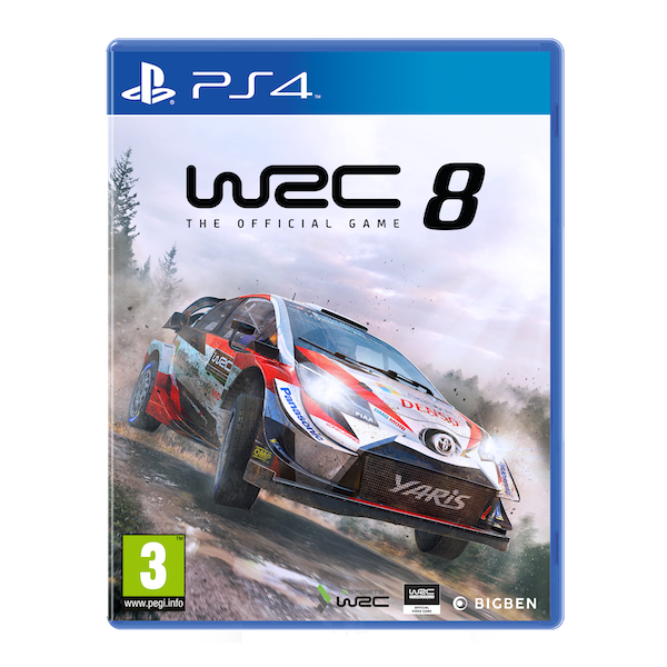 WRC 8 PS4 Game - Image 1