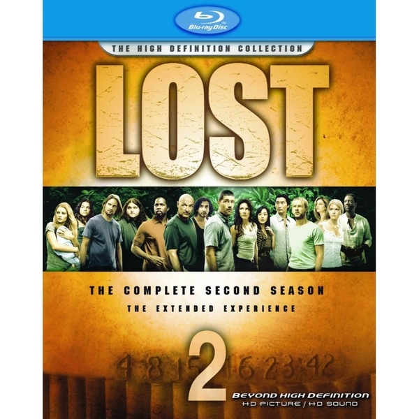 Lost The Complete Second Season Blu-ray