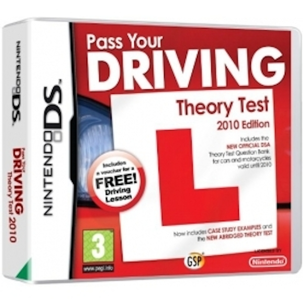 Ex-Display Pass Your Driving Theory Test 2010 Edition Game DS Used - Like  New
