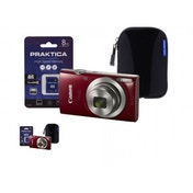 Canon IXUS 185 Camera Kit inc 8GB SD Card and Case Red