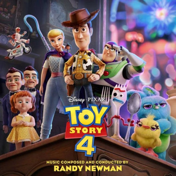 Toy Story 4 Soundtrack OST CD