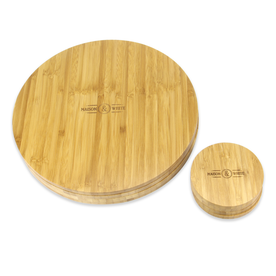 Bamboo Circle Placemats & Coaster | M&W
