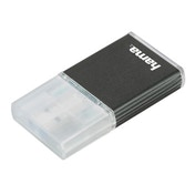Hama USB 3.0 UHS-II Card Reader, SD, aluminium, anthracite
