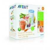 Philips SCF721/20 Avent Baby Food Storage Cups 180/240 ml - Pack of 20