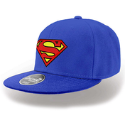 Superman - Logo Cap - Blue (One Size)