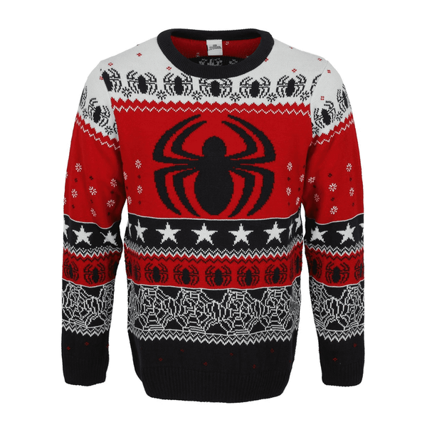 Marvel Spider-man - Spider Logo Unisex Christmas Jumper Medium