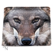 Portrait of a Wolf Wallet