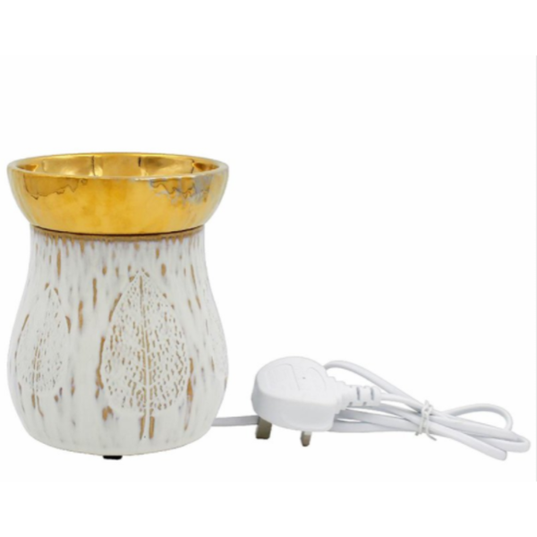 Ceramic Oil Burner By Lesser & Pavey (UK Plug)