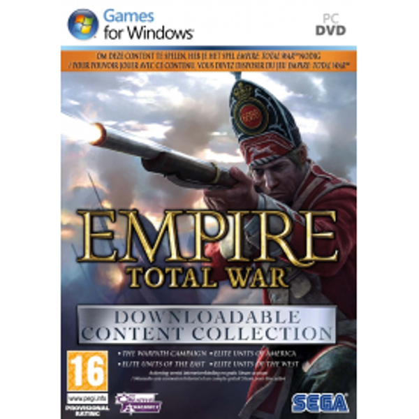 Total War Empire Downloadable Content Collection Game PC