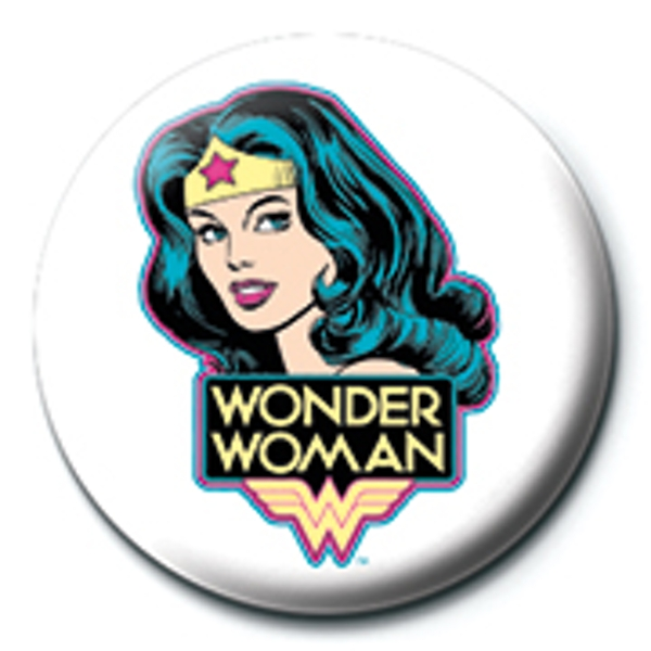 Wonder Woman - Head Badge