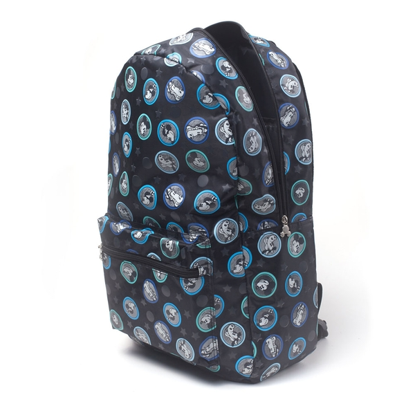 Disney - Mickey Mouse All-Over Mickey & Friends Print Backpack - Grey