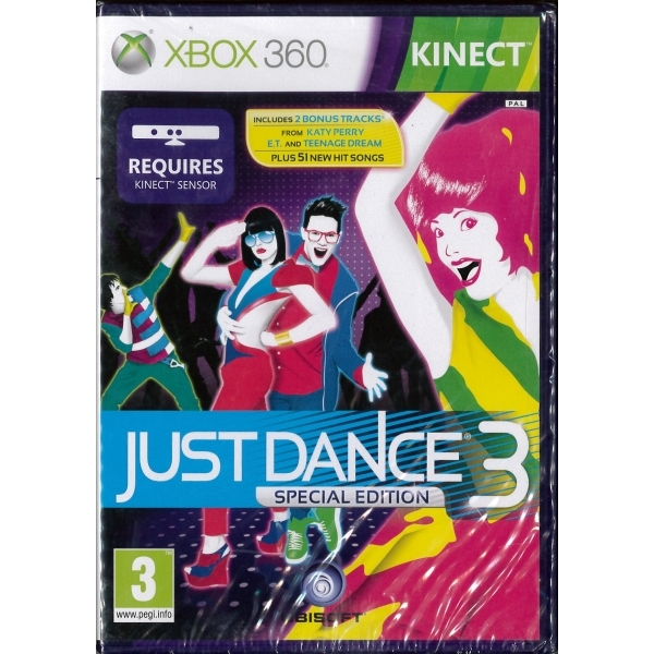 Kinect Just Dance 3 Sp...