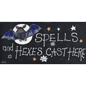 Spells And Hexes Cast Here Pack Of 12