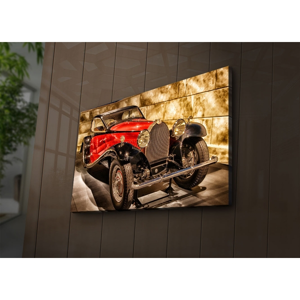 4570?ACT-66 Multicolor Decorative Led Lighted Canvas Painting