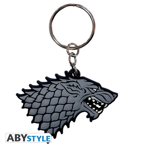 Game Of Thrones - Stark PVC Keyring