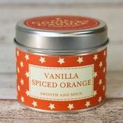 Vanilla Spiced Orange (Superstars Collection) Tin Candle