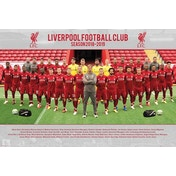 Liverpool Team Photo 18/19 Maxi Poster