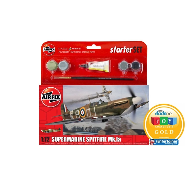 Supermarine Spitfire Mk.Ia 1:72 Air Fix Small Starter Set