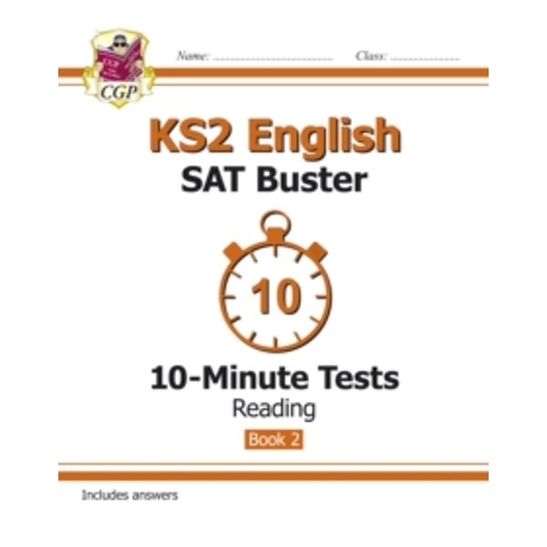 KS2 English SAT Buster 10-Minute Tests: Reading - Book 2 (for the New Curriculum) by CGP Books (Paperback, 2015)
