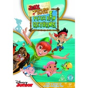Jake And The Never Land Pirates Peter Pan Returns DVD