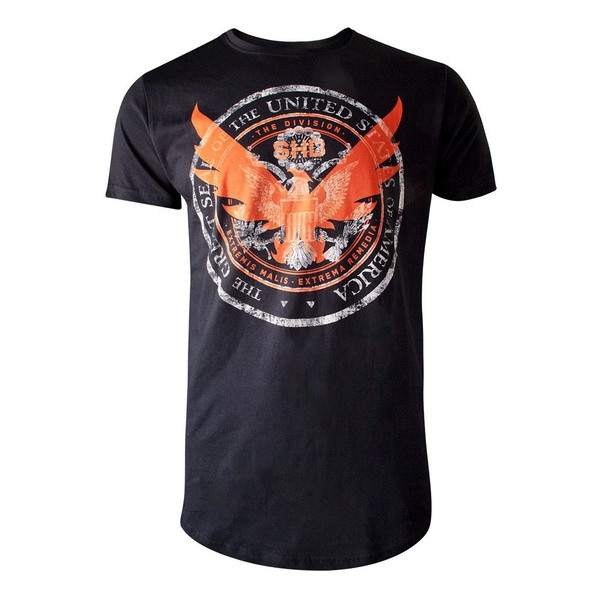 The Division - Shd Emblem Logo Men's Small T-Shirt - Black