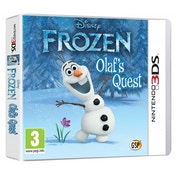 Disney Frozen Olafs Quest Game 3DS