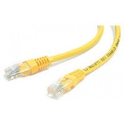 StarTech 1ft Yellow Molded Category 5e (350 MHz) UTP Patch Cable