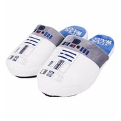 R2D2 Star Wars Slippers White Medium (UK 5-7)