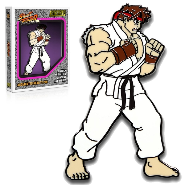 PFSF002 Street Fighter Ryu Augmented Reality Pin