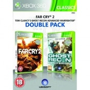 Ubisoft Double Pack Far Cry 2 & Ghost Recon Advanced Warfighter Game Xbox 360