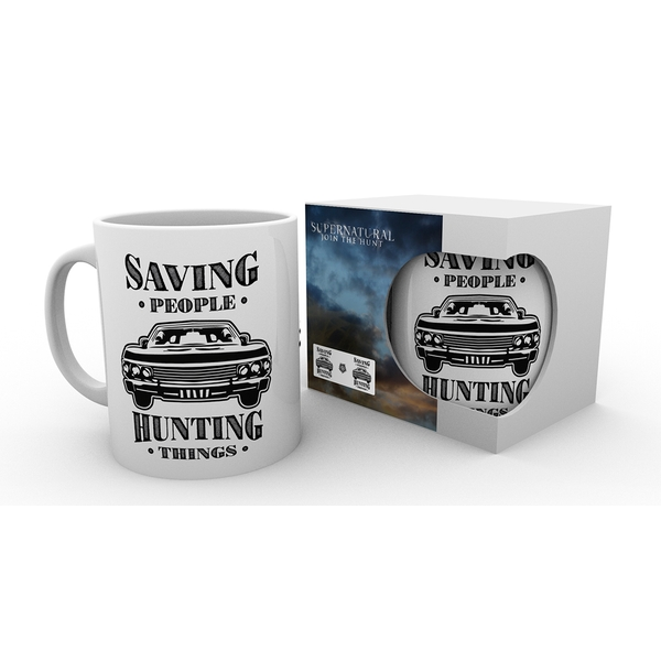 Supernatural Hunting Things Mug