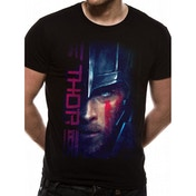 Thor Ragnarok - Thor Script Men's Large T-Shirt - Black