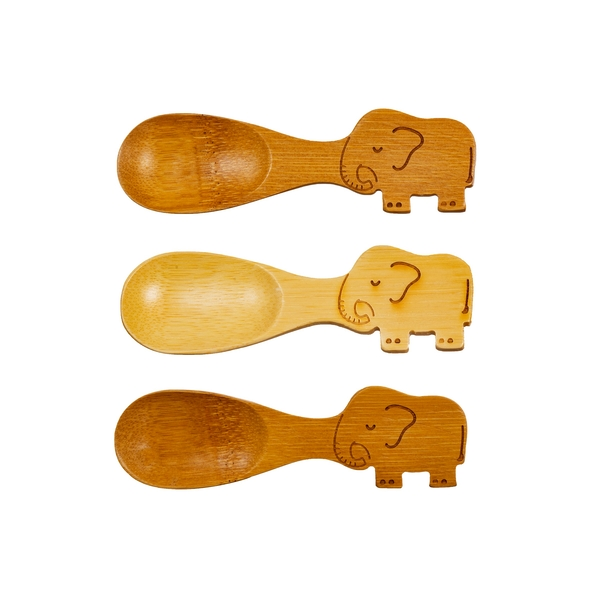 Sass & Belle Elephant Bamboo Spoons - Set of 3