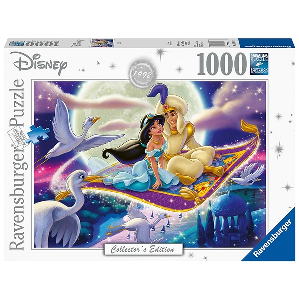 Ravensburger Disney Collector's Edition Aladdin 1000 Piece Jigsaw Puzzle