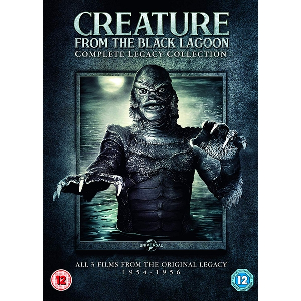 Creature from the Black Lagoon: Complete Legacy Collection DVD