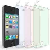 Yousave Apple iPhone 4 / 4S Glass Screen Protector -Twin Pack