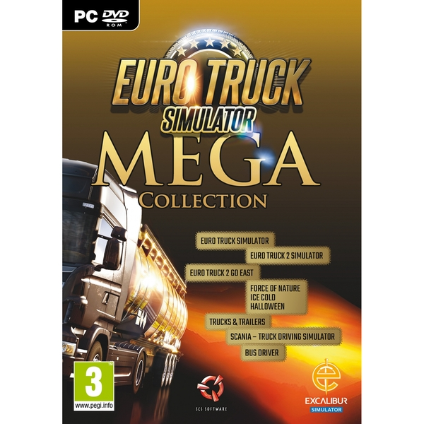Euro Truck Mega Collection PC Game