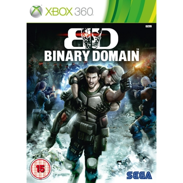 Binary Domain Game Xbox 360
