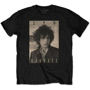 Syd Barrett - Sepia Men's Small T-Shirt - Black