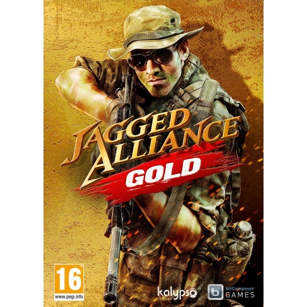 Jagged Alliance Gold Edition Game PC