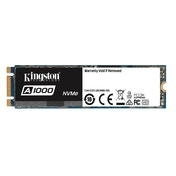 Kingston Technology SSD A1000 (SA1000M8/240G) 240 GB Solid State Drive, M.2 2280, PCIe NVMe, Black