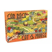Nostalgy Game: Cat Mouse/Car Race Board Game