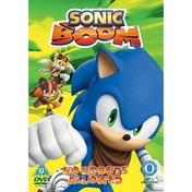 Sonic Boom: Volume 4 - No Robots Allowed DVD