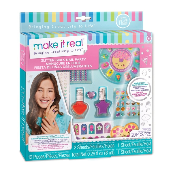 Make It real - Glitter Girls Nail Party Set